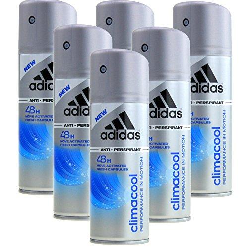 6* Adidas Deospray Deo Bodyspray 150ml Climacool 6*150ml