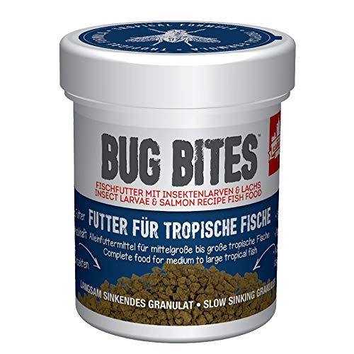 Fluval Bug Bites Alleinfutter für Süßwasserfische, M-L, 1er Pack (1 x 45 g)