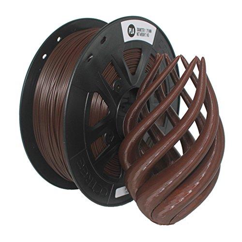CCTREE 3D Printer Filament ST-PLA (PLA PRO) 1.75MM 1KG Spool For Creality Ender 3 (Braun)