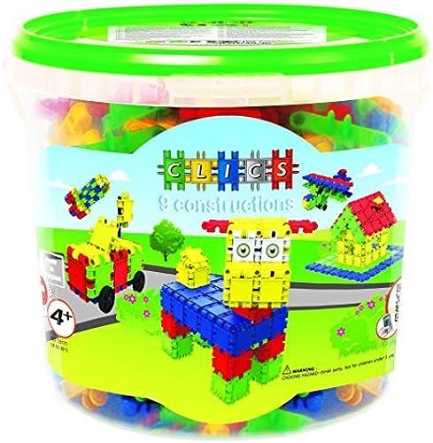 las mejores marcas venden barato Clics Clics Clics Bucket 175 Pieces by Clics [Toy] (English Manual)  Envio gratis en todas las ordenes