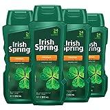 Irish Spring Men's Body Wash Shower Gel, Original - 18 fluid ounce (4...