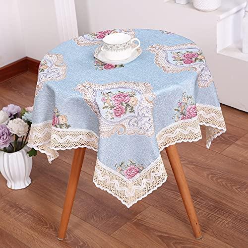 sans_marque Manteles, tableros de mesa, textiles para el hogar, elegantes manteles bordados, modernos manteles antiguos, manteles de lujo 120*170cm