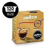 Lavazza A Modo Espresso Mio Qualità Oro Coffee Capsules, 12-Count, Pack of 10 (120 capsules)