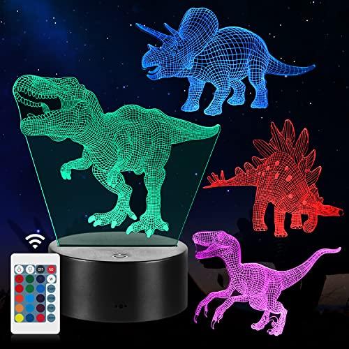 Dinosaurier Nachtlicht Geschenke, 4PCS...