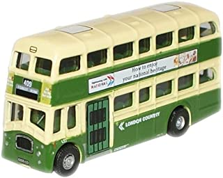 Double Decker Bus N Gauge: London Country Queen Mary From Oxford Diecast