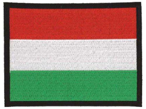 Klicnow Hungría Bordado Parche 13cm x 10cm Aprox