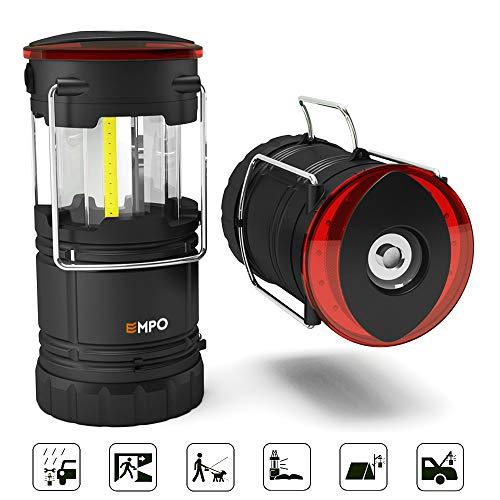 EMPO 1 Linterna LED Acampada portátil luz Intermitente