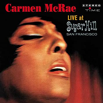 Carmen McRae Live at Sugar Hill, San Francisco