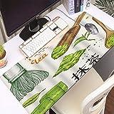 FAQIMEI Alfombrilla Gaming para PC Matcha Japonés Étnico Nacional Ceremonia del té Tradiciones Cultura Decorativa, Máxima Precisión con Base de Caucho Natural, Máxima Comodidad