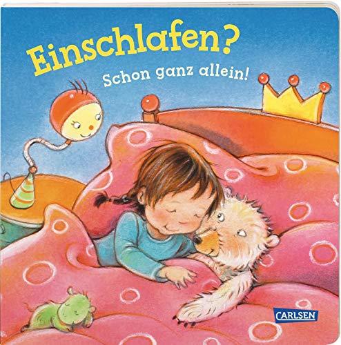 Einschlafen? Schon ganz allein! (Kleine Entwicklungsschritte): Ein Pappbilderbuch ab 2 Jahren, das alltagsnah vom ins Bett gehen erzählt