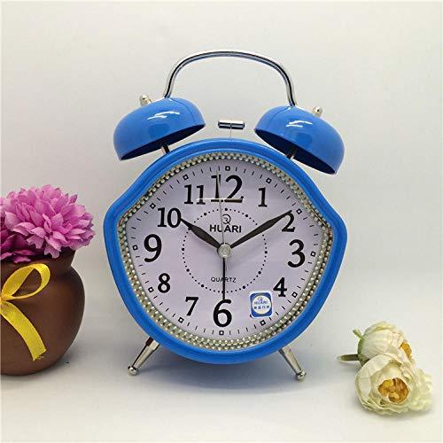 hlyhly Serie kleur grote ijzeren bel wekker oversized klok luie boutique wekker