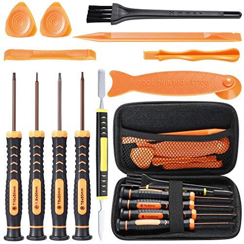 EXTSUD Schraubenzieher Set, T6 T8 T10 Schraubendreherset Öffnung Werkzeug Set für PS3, PS4, Xbox One Xbox 360 Controller