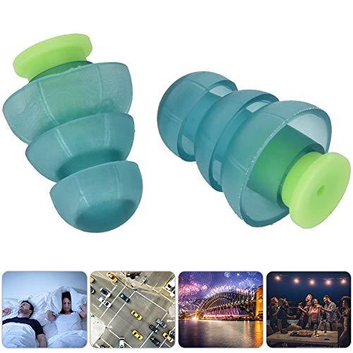 Wendry oordopjes voor gehoorbescherming, oordopjes van hoogwaardig siliconenmateriaal, waterdicht, ruisonderdrukkende oordopjes voor toerisme, zwemmen, luchtvaart, slaap, industriële geluidsreductie