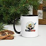 WallStreetBets GamestopGME Coffee Mug, Wall Street Bets mug, GME to the moon mug, GME STOCK, Stock market coffee mug, Memorial Gift for him Black Mug