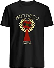 Morocco,futbol,rusia,fifa,soccer,team, Soccer Russia 2018 Football Fan national team tee gift 54 T shirt Hoodie for Men Women Unisex