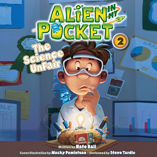Alien in My Pocket audiobook cover art