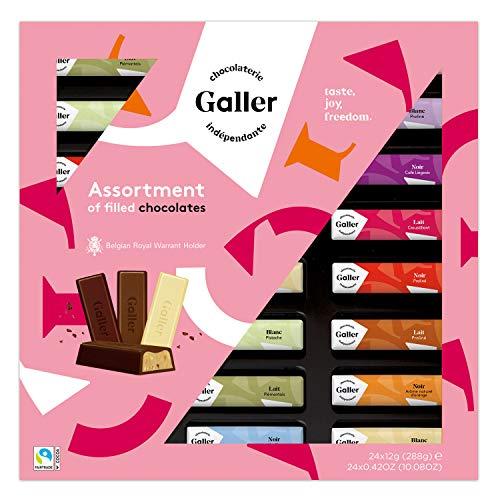 ガレー Galler バレンタイン チョコレート 限定パッケージ ミニバーギフトボックス 24本入