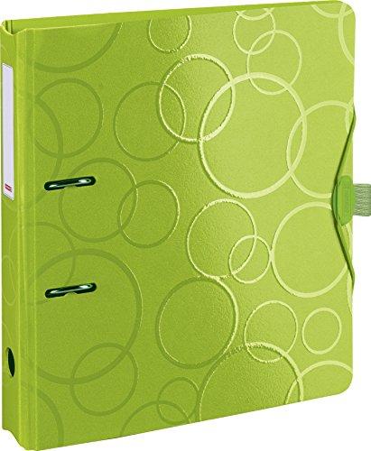 Brunnen 102042552 Colour Code Ordner (aus strapazierfähigem Kunststoff, Polyfoam) grün/kiwi
