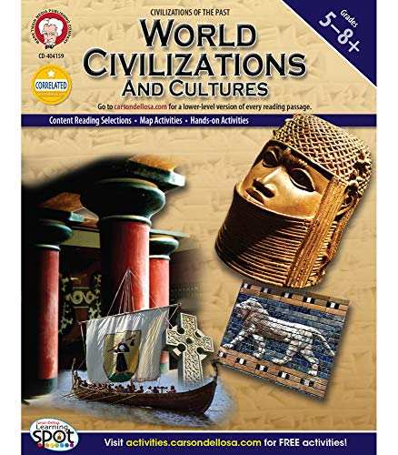 Compare Textbook Prices for Mark Twain Media   World Civilizations and Cultures Workbook   5th–8th Grade, 96pgs World History Act Csm Edition ISBN 9781580376341 by Blattner, Don
