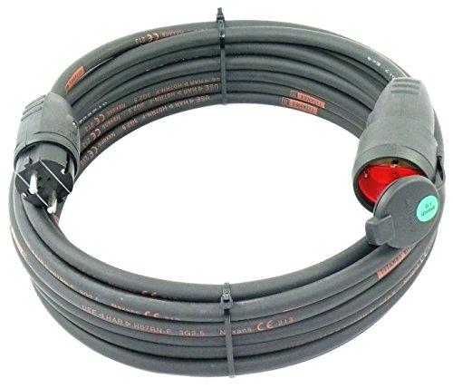 Schuko TITANEX Verlängerungskabel H07RN-F 3G2,5 3x2,5 IP44 5m