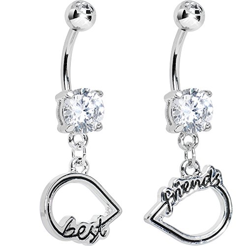infinity belly ring - 3