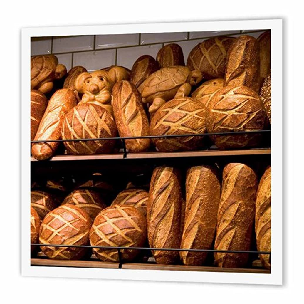 3dRose ht_88335_3 Sourdough Bread at Cafe, San Francisco, CA-US05 DFR0188-David R. Frazier-Iron On Heat Transfer, 10 by 10