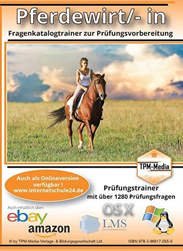 Pferdewirt/-in als Lerntrainer für Windows mit über 1280 Prüfungsfragen: Multiple-Choice Lernsoftware für die Prüfungsvorbereitung