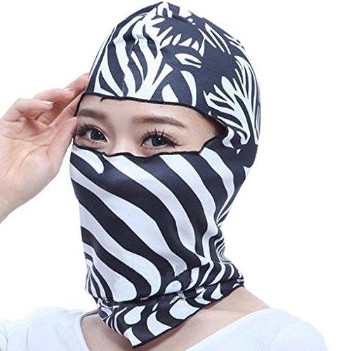 Unisex pasamontañas braga de diseño 3d animal Balaclava hombre mujer máscaras ciclismo máscara antipolvo completo Sport estrecho anti-UV/viento para moto bicicleta esquí