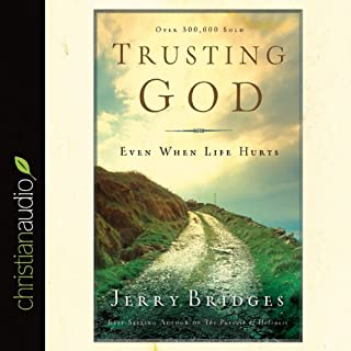 Trusting God audiobook cover art