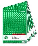 Sigel formularios–Caja registradora (libros 5 unidades...
