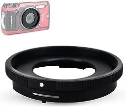 JJC 40.5mm Lens Filter Adapter for Olympus Tough TG-6 TG-5 TG-4 TG-3 TG-2 TG-1 Adding FCON-T01 Fisheye Converter/TCON-T01 Teleconverter / 40.5mm UV CPL ND Filter, as Olympus CLA-T01 Adapter Ring