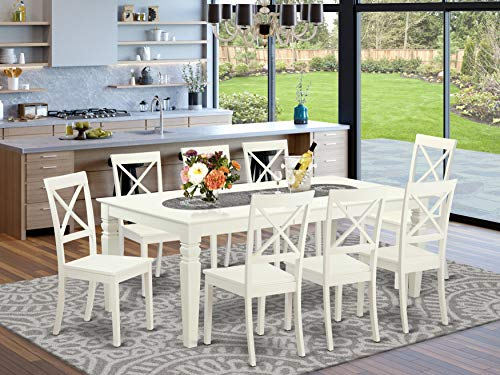 square 8 person dining table - 2