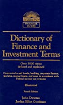 Dictionary of Finance and Investment Terms (BARRON'S FINANCE AND INVESTMENT HANDBOOK)