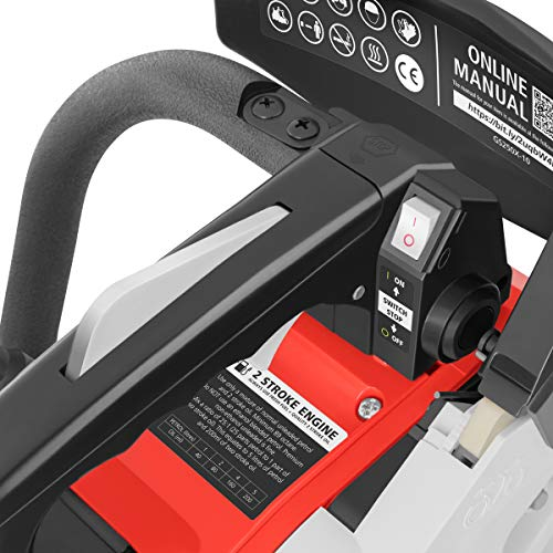 Greencut GS2500 Motosega a Scoppio Benzina 25,4cc-1,4cv-Spada 10