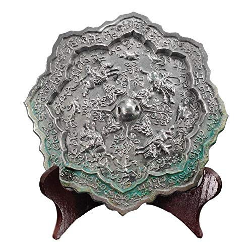 LAOJUNLU Bronze Mirror with Hunting Pictures from The Tang Dynasty Imitation Antique Bronze