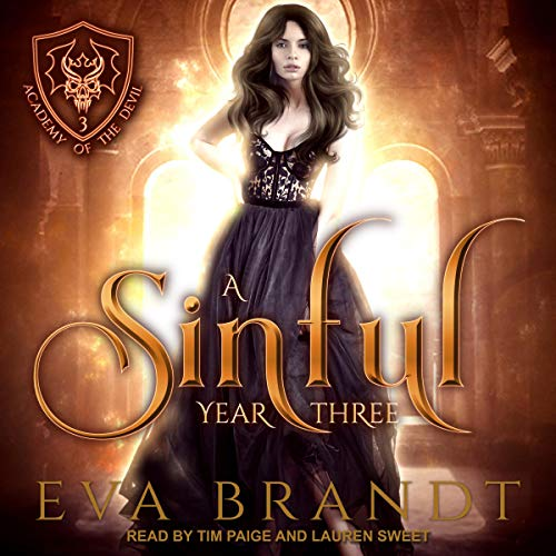 A Sinful Year Three audiobook cover art