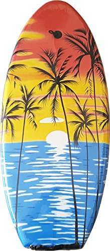Lively Moments Bodyboard / Wellenreiter / Surfbrett / Schwimmbrett Tropical Sun ca. 100 cm