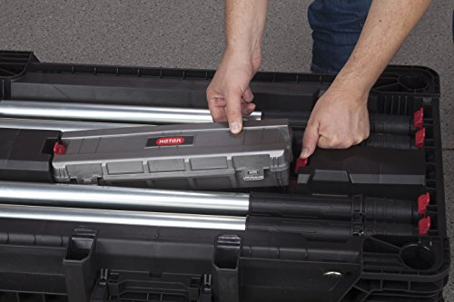 Mesa de trabajo Keter Master Pro portable,...