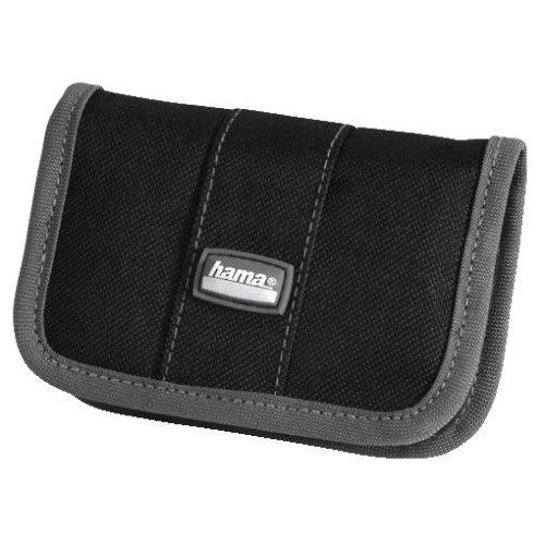 Hama Speicherkarten-Tasche für 10 Speichermedien, Grau/Schwarz, Mini