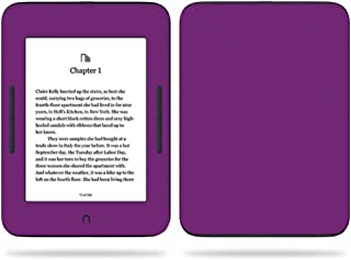 MightySkins Skin Compatible with Barnes & Noble Nook GlowLight 3 (2017) - Solid Purple | Protective, Durable, and Unique Vinyl Decal wrap Cover | Easy to Apply, Remove | Made in The USA