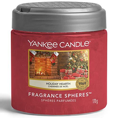 Yankee Candle Ambientador con esferas de fragancia | Holiday Hearth | Hasta 30 días de fragancia | Colección mágica de Navidad por la mañana