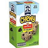 Quaker Chewy Granola Bars, 25% Less Sugar, Chocolate Chip,, (58 Pack)
