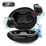 Wireless Earbuds, IPX7 Waterproof Sport Headphones, Bluetooth 5.0 Earbuds with USB-C Quick Charge