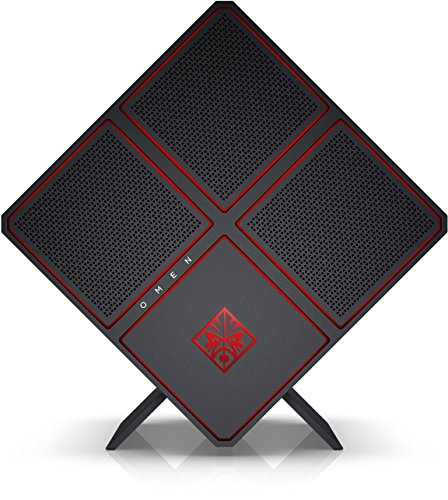 OMEN X by HP (900-053ng) Gaming Desktop PC (Intel Core i7-6700K, 32 GB DDR4 RAM, 512 GB SSD (NVMe), 3 TB HDD, 2 x NVIDIA GeForce GTX 1080 (8 GB GDDR5X), Windows 10) schwarz