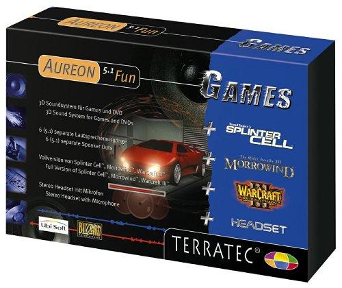 Terratec Aureon 5.1 Fun Games Soundkarte