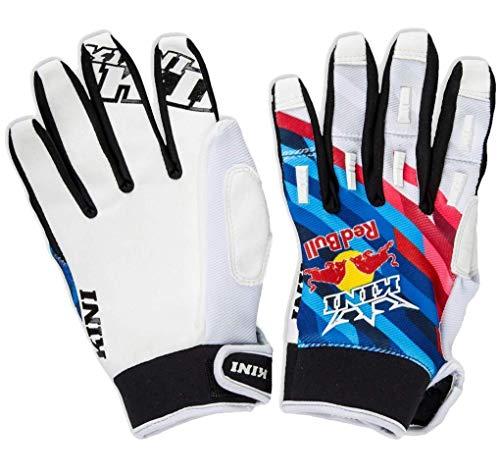 KINI Red Bull Competition Pro Gloves - XXL – Motocross-Handschuhe für Herren, Motorsport, Handschutz, Gepolsterte Daumen, Atmungsaktiver Mesh