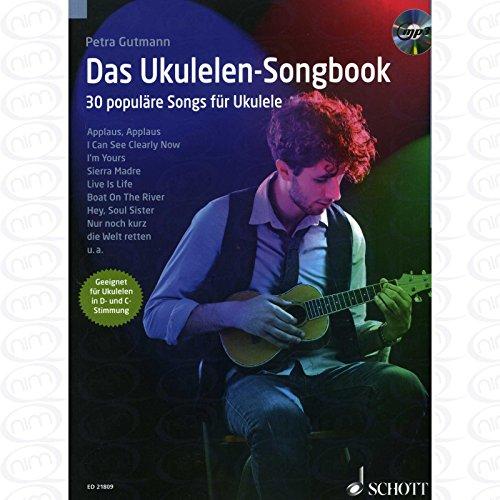Das Ukulelen Songbook - arrangiert für Ukulele - mit CD [Noten/Sheetmusic] Komponist : Gutmann Petra