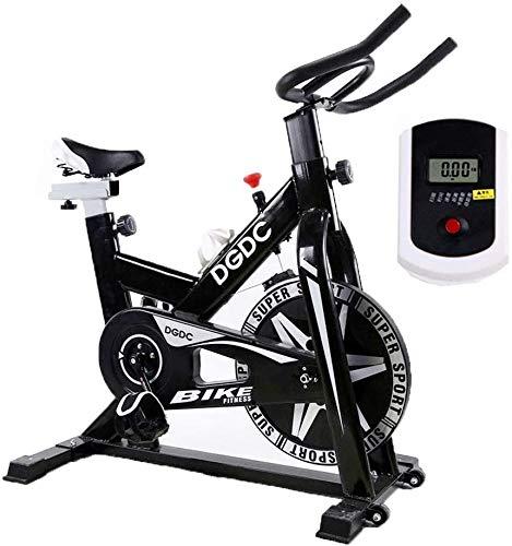 Velocidad Resistencia Bicicleta Estática, Inicio Deportes Trainer Ciclo De La Bici, Correa De Transmisión para Bicicleta con Manillar Ajustable Indoor Cycling Exercise Bikes