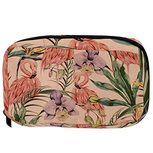 TIZORAX cosmeticatasjes dieren in jungle handige toiletartikelen reistas organizer make-up tas voor vrouwen meisjes 16×6.3×9cm patroon 5