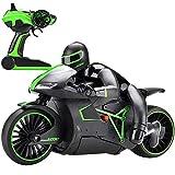 Bogget Fernbedienung Motorrad 2,4G Drahtlose Lade Sport Boy Racing RC Motor High Speed Fernbedienung Motorrad Stunt Drift Auto Fahrrad Kinder Spielzeug Geburtstag